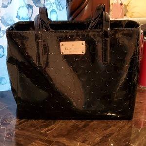 Kate ♠️ black patent leather